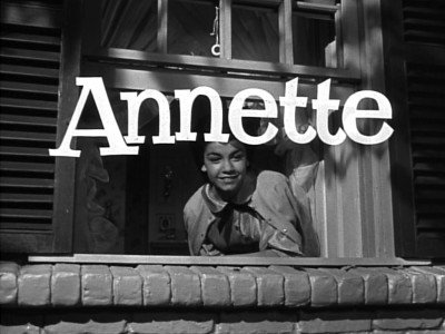 Annette Funicello Mickey Mouse Club Serial