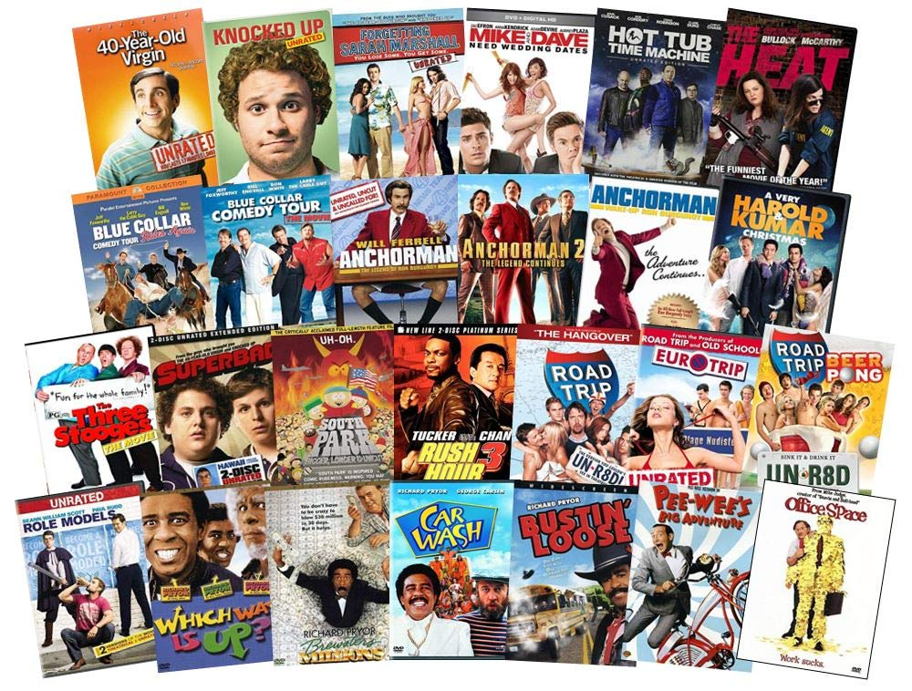 Classic Comedy Movies DVDs