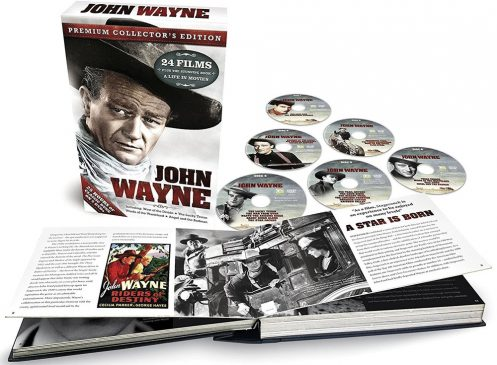 Classic John Wayne Movies DVD Collection