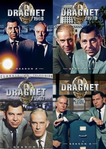 Dragnet Complete Series DVDs