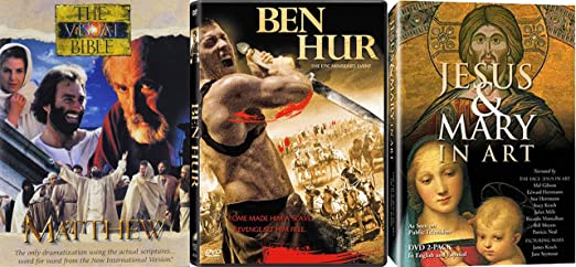 Epic and Biblical Classic Movie DVDs
