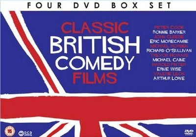 British Comedy Movies DVDs
