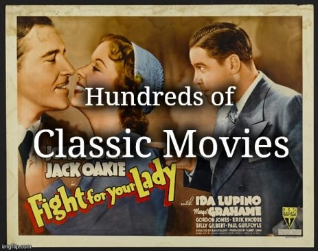 Classic Movies - Hundreds of Titles